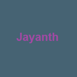 Profile picture of jayanth.kumar4all