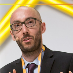 Image of Massimiliano Claps, who writes about the impact of the smart city